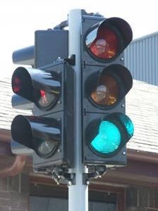 Industrial Traffic Lights